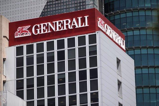 Edificio de la sede de Generali, en Madrid (España), a 30 de julio de 2020. El grupo asegurador italiano Generali obtuvo un beneficio neto de 774 millones de euros durante el primer semestre del ejercicio 2020, lo que representa un recorte de las ganancia
