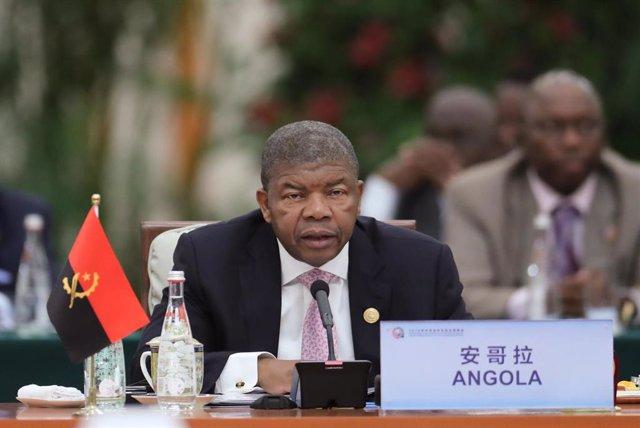 El presidente de Angola, João Lourenço.