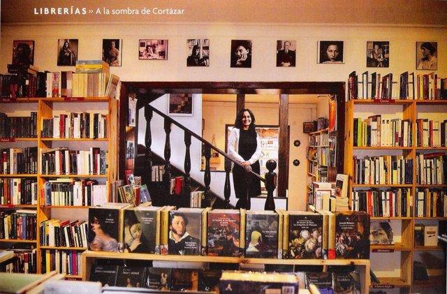Librería Casa Tomada. En Bogotá.