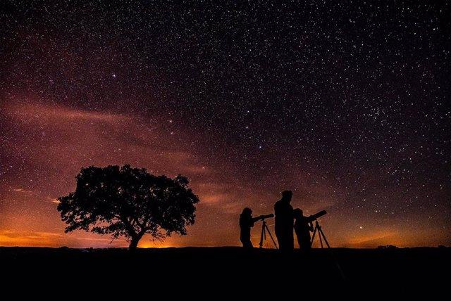 Actividad de astroturismo