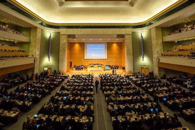 Inauguración de la 72º Asamblea Mundial de la Salud en Ginebra (Suiza)