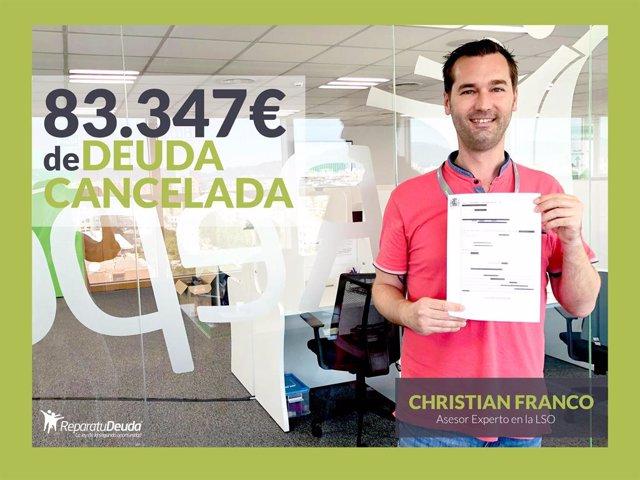 Repara tu deuda es líder en la cancelación de deudas en Sevilla