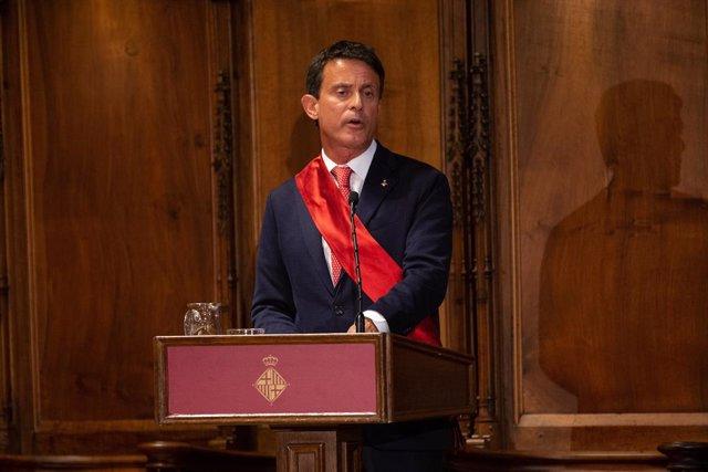 El líder de BCNCanvi, Manuel Valls.