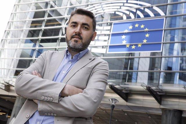 El eurodiputado socialista Jonás Fernández en Bruselas. Imagen recurso del servicio audiovisual del Parlamento Europeo