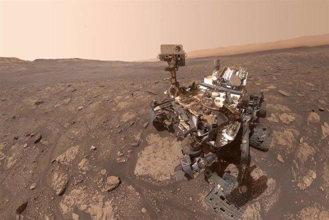 Rover Curiosity a 25 de octubre de 2020