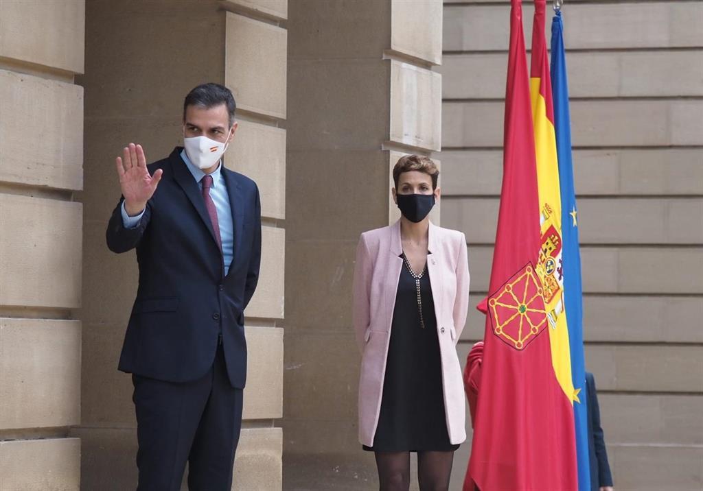 Sánchez asegura que Navarra «ha sabido posicionarse en una posición de vanguardia para ganar el futuro» y está a punto de «sacar ventaja»