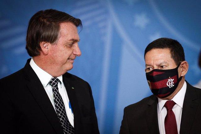 Jair Bolsonaro y Hamilton Mourao