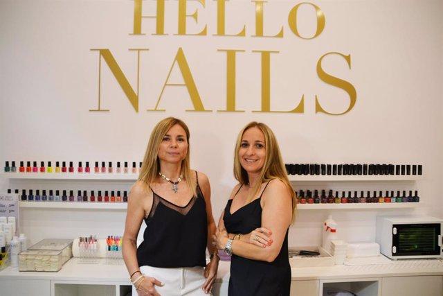 Noelia Gómez y Belén Aventín, fundadoras y propietarias de Hello