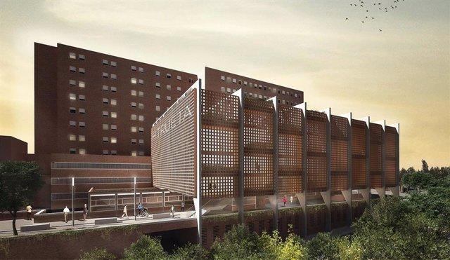 Surt la licitació les obres de construcció de l'Hospital Josep Trueta de Girona.