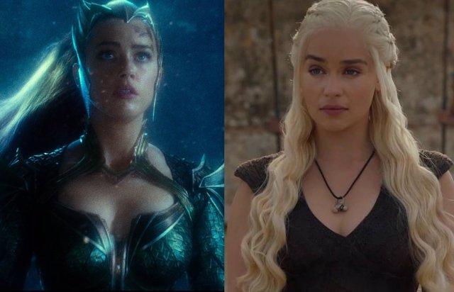 Elmilia Clarke como Mera en Aquaman 2