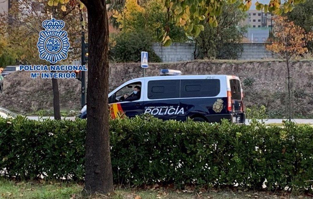 Detenido en Granada como presunto autor de un atraco a dos ancianos sin techo