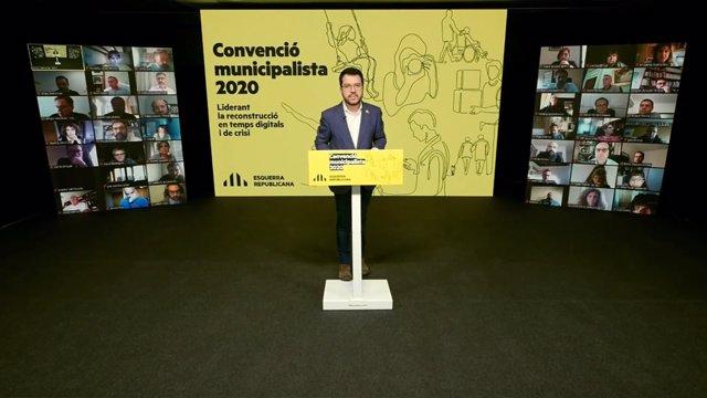 El vicepresidente de la Generalitat y conseller de Economía y Hacienda, Pere Aragonès
