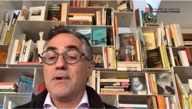 El conseller Ramon Tremosa obre telemàticament el Ir Fòrum Ciutadà per l'Energia