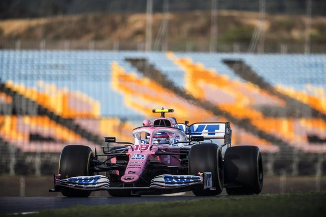 18 STROLL Lance (can), Racing Point F1 RP20, action during the Formula 1 DHL Turkish Grand Prix 2020, from November 13 to 15, 2020 on the Intercity Istanbul Park, in Tuzla, near Istanbul, Turkey - Photo Antonin Vincent / DPPI