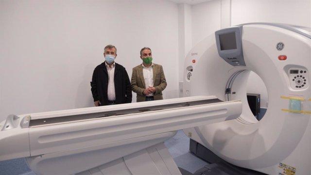 Visita a las obras del Hospital de Alta Resolución de Estepona
