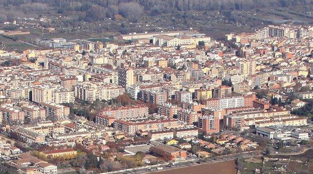 Pla general del municipi de Salt. Imatge cedida el 14 de novembre del 2020 (Horitzontal)