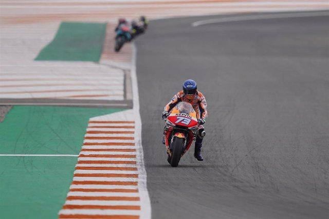 El piloto español de MotoGP Álex Márquez