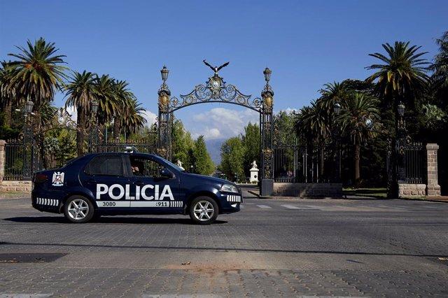 Un coche patrulla de Policía