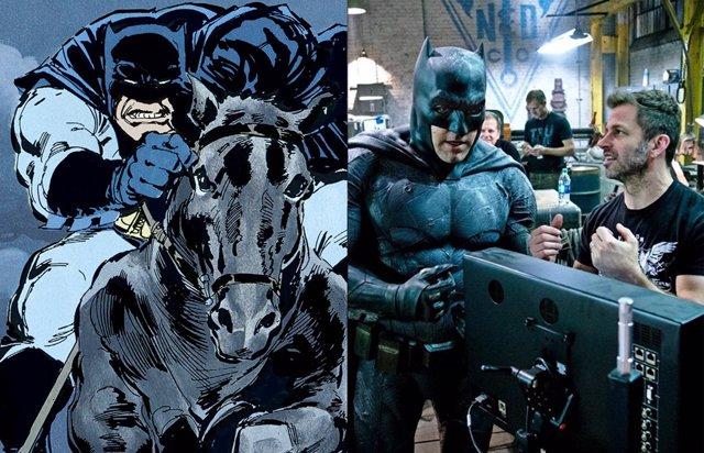 Zack Snyder aún sueña con dirigir una película de El Regreso del Caballero Oscuro, el Batman de Frank Miller