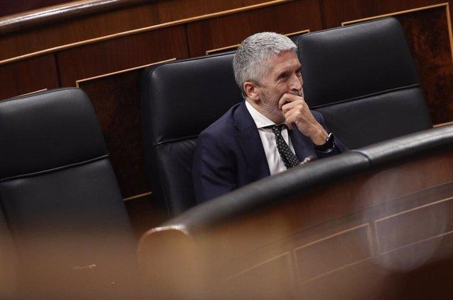 El ministre de l'Interior, Fernando Grande-Marlaska, a Madrid (Espanya), a 11 de juny del 2020.