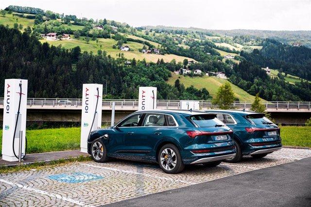 Imagen del Audi e-tron.