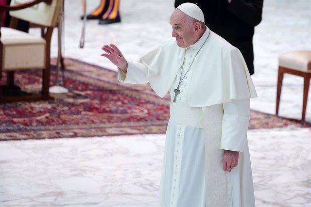 El Papa Francesc durant una audiència general al Vaticà el passat 28 d'octubre