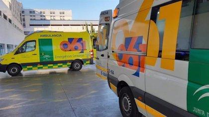 Sucesos.- Fallece un hombre de 54 años en Chipiona tras un accidente entre una moto y una bicicleta