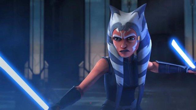 Ahsoka Tano en la serie de animación de Star Wars