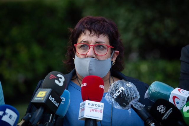 L'exconsellera de Treball, Afers Socials i Família de la Generalitat, Dolors Bassa.