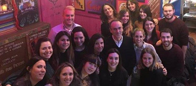 Investigadores del grupo coordinado por Javier Gisbert en el CIBEREHD/Hospital U. De La Princesa
