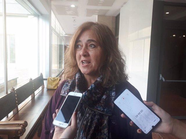 La regidora d'ERC a Barcelona, Gemma Sendra