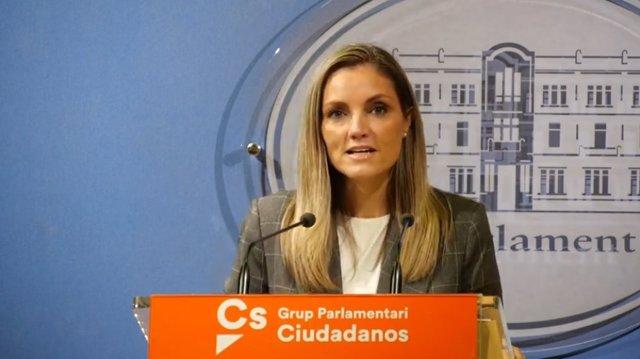 La portavoz de Cs, Patricia Guasp.