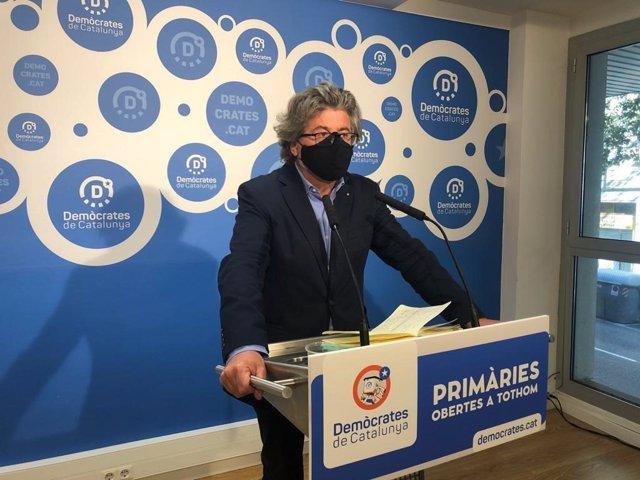 El portaveu de Demòcrates, Antoni Castellà