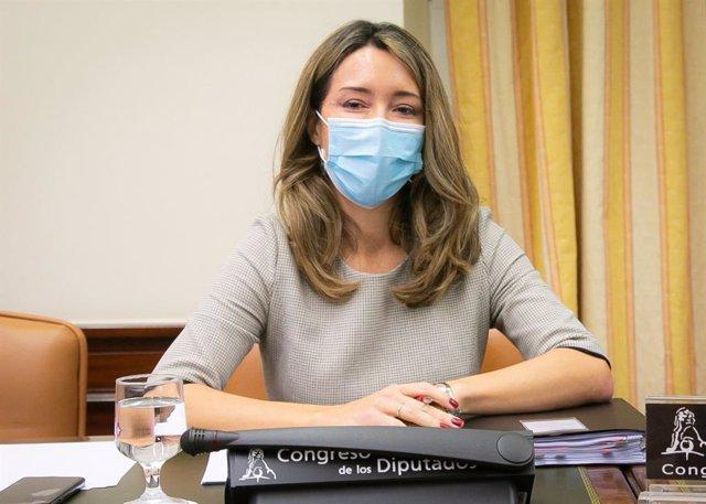 La secretaria de Estado de Comercio, Xiana Méndez, comparece en el Congreso