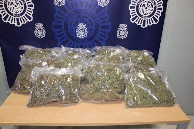 Marihuana intervenida por la Policía Nacional