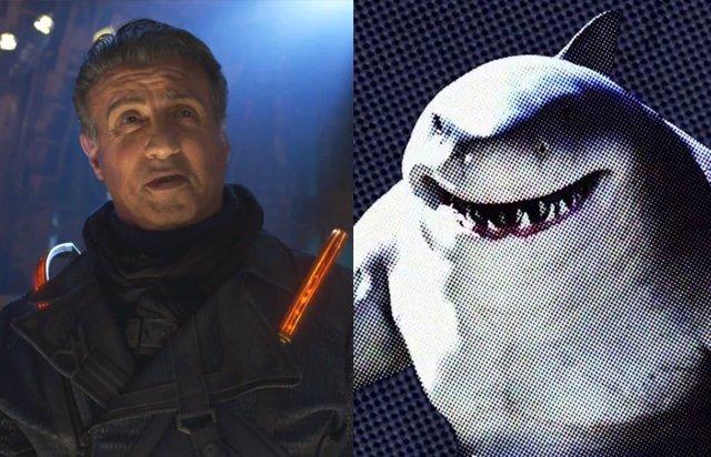Sylvester Stallone se une al Escuadrón Suicida (The Suicide Squad) de James Gunn... ¿Como King Shark?