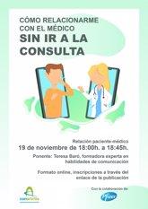 Foto: ConArtritis lanza una campaña para mostrar a la población cómo relacionarse con el médico sin ir a consulta
