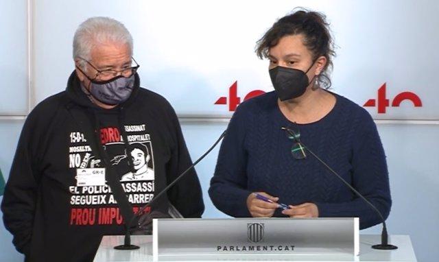La CUP, els comuns, ERC i JxCat exigeixen reobrir el cas de Pedro Álvarez abans que prescrigui.