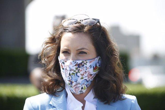 La gobernadora demócrata de Michigan, Gretchen Whitmer