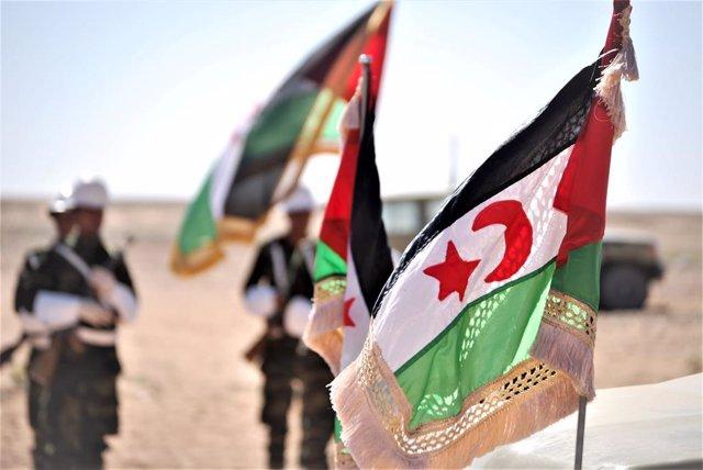 Banderes de la República Àrab Saharaui Democràtica (RASD)