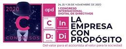 APD reunirá a más de 5.000 directivos de 6 países el 24, 25 y 26 de noviembre en su primer congreso internacional completamente online