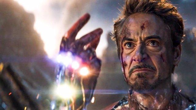 Robert Downey Jr (Iron Man) vuelve a enfundarse el guantelete del infinito