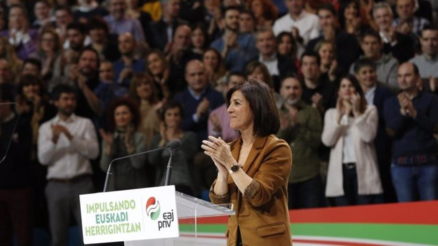 La eurodiputada del PNV, Izaskun Bilbao