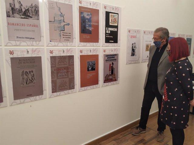 Exposición de 'Curiosidades flamencas' que puede verse en el Palacio de la Isla de Cáceres