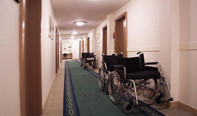 Interior de una residencia de mayores/Archivo