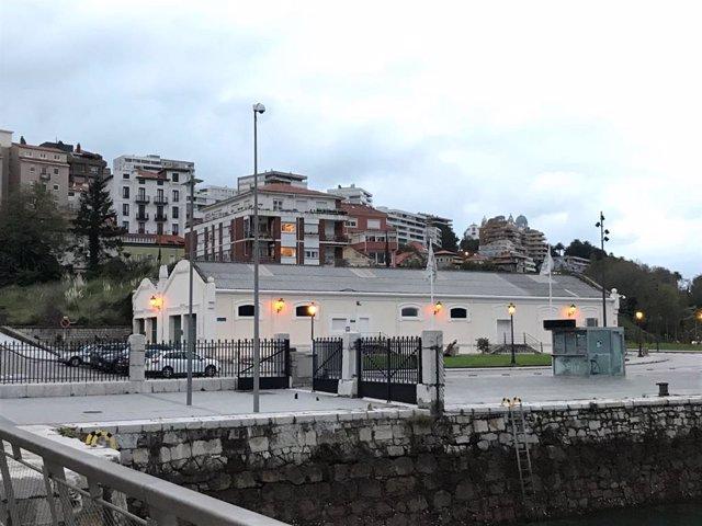 Vista exterior de las Naves de Gamazo en Santander