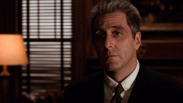 Al Pacino en El Padrino: Epílogo, de Francis Ford Coppola