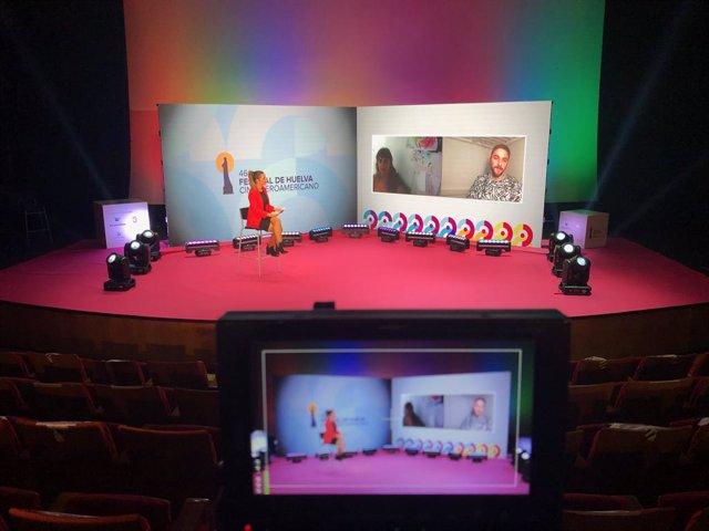Rueda de prensa de la película 'Cosas que no hacemos' en el Festival de Cine de Huelva.