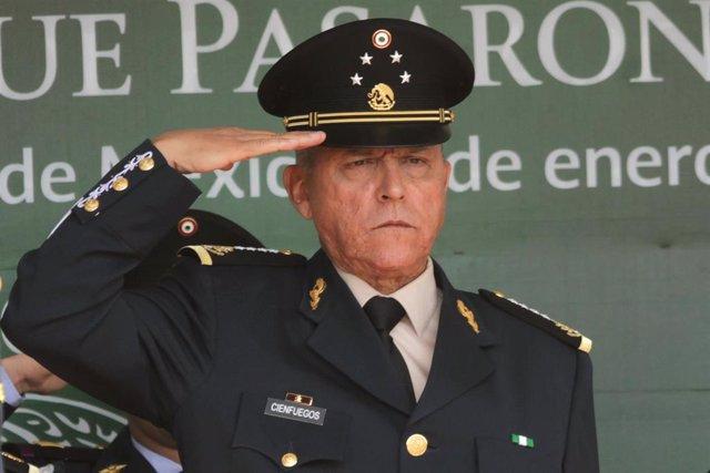 El exministro de Defensa de México Salvador Cienfuegos (2012-2018).