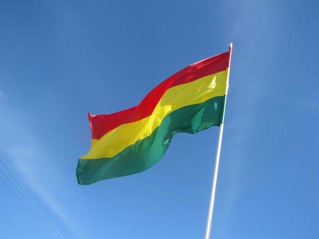 Bandera de Bolivia en una imagen de archivo.
